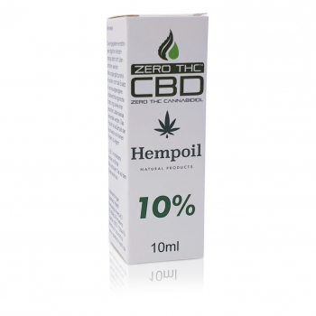 CBD Hemp Oil 10 Prozent 10ml box