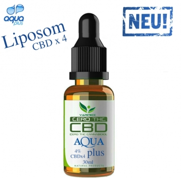 Aqua plus 4% CBD 30ml