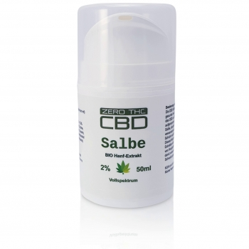 Pure CBD 2% Salbe 50ml Balsam Soft
