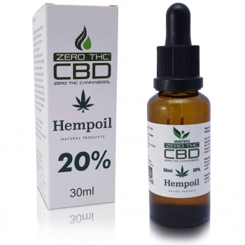 CBD Hemp Oil 20% Cero THC 30ml