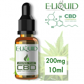 CBD 200mg Eliquid 10ml