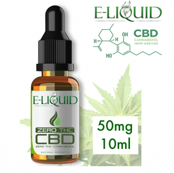 CBD 50mg Eliquid 10ml