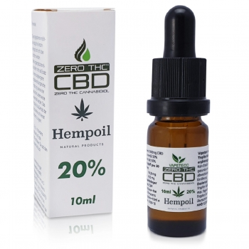 CBD Hemp Oil 20% Cero THC 10ml