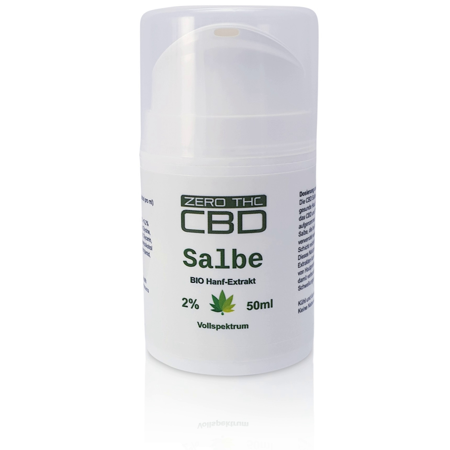 Pure CBD 2% ointment 50ml balm soft